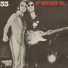 "ELTON JOHN BAND & JOHN LENNON - 28th NOVEMBER 1974 (1981 VINYL EP 7"" FRANCE)"