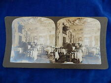 STEREOVIEW - H.C. WHITE CO - 1974 PALACE HOTEL / CHAMPS ELYSEES / PARIS - TOP !