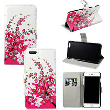 """Book Flip Card Holder PU Leather Stand Case Cover For Apple iPhone 6 Plus 5.5"""""""