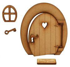 Opening Fairy Door Wooden Opening Fairy Door Fairy Window Fairy Key Welcome Mat