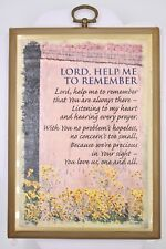 Paula Inspirational Classics Religious Decor Wall Hanging Plaque Lord Help Me