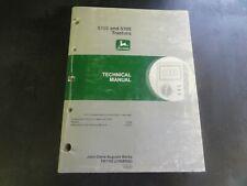 John Deere 5105 and 5205 Tractors Technical Manual   TM1792