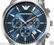 IMPORTED PREMIUM EMPORIO ARMANI AR2448 CLASSIC BLUE CHRONOGRAPH MENS WATCH