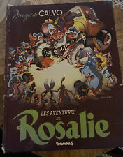 Les Aventures de Rosalie by Calvo, Futuropolis 1978 HC French language