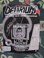 Delirium ( Full Moon Presents ) # 13 Uncirculated  Rod Sterling The Twilght Zone