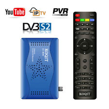 HD DVB-S2 FTA Satellite Receiver Sat Finder Decoder Recording Capture USB Tv box