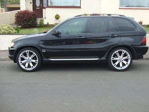 BMW X5 AIR Suspension Lowering Links (REAR ONLY)