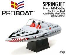 Pro Boat Springjet 9' Self-Righting Electric Jet Boat Rtr (Silver) Prb08045T1