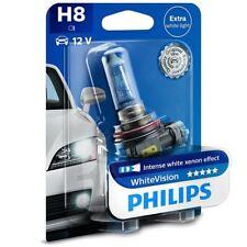 1x Philips H8 WhiteVision Halógeno Efecto XENON 12360WHVB1