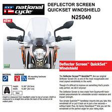 SUZUKI SVF650 GLADIUS 09-15 NATIONAL CYCLE DEFLECTOR QUICKSET WINDSHIELD N25040