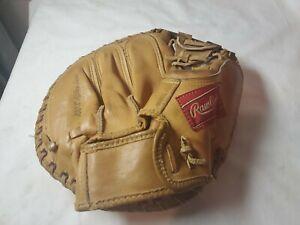 VintageCurt Blefary Rawlings DB45 Professional Baseball Glove Catchers Mitt