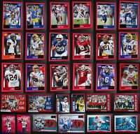 2020 Panini Score Red Parallel Football Cards Complete Your Set U Pick 301-440