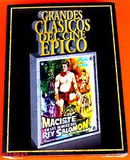 MACISTE EN LAS MINAS DEL REY SALOMON Maciste nelle miniere di re salomone DVD R2