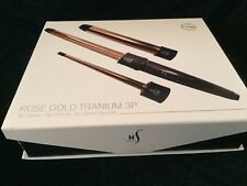 Herstyler 3 in 1 Curling Iron Set - Rose Gold Curling Iron Wand Set ~ SHIPS FREE
