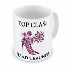 Top Class HEAD TEACHER Novelty Gift Mug - Brand New