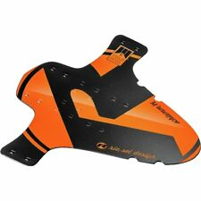 Riesel Fender in Orange And Black MTB Front MudGuard