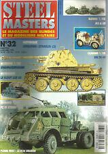 STEEL MASTERS N° 32 PZ IV SYRIEN / M26 DRAGON / SPA TM 40 / KOURSK / SPAEHPANZER
