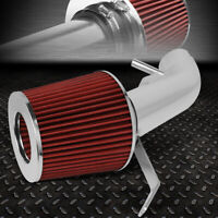 FOR 07-12 NISSAN ALTIMA 2.5L LIGHTWEIGHT SHORT RAM AIR INTAKE SYSTEM+RED FILTER