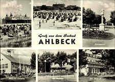 AHLBECK Kr. Wolgast DDR Mehrbild-AK um 1969 gelaufen gebraucht Ansichtskarte