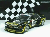BMW 3.5 CSL ASPM #44 Tanday Music Justice, Bélin 24h LeMans 1976 1:18 Minichamps