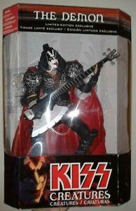 "Kiss The Demon Gene Simmons Creatures 12"" action figure Mcfarlane 2002 Raro"