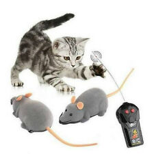 Hot Wireless Remote Control RC Electronic Rat Mouse Mice Toy For Cat Puppy Gifts