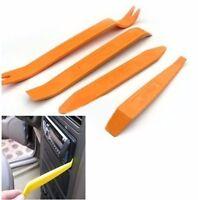 4pcs Car Radio Door Clip Panel Trim Dash Audio Removal Pry Tool Kit Plastic