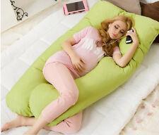 130*70cm Large U Shape Contoured Body Pregnancy Nursing Maternity Pillow Cozy