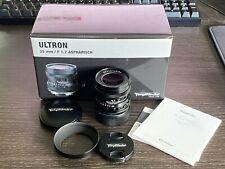 Voigtlander Ultron 35mm 1.7 lente asférica VM Montaje Como Nuevo En Caja Leica M