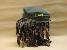 WW2 German Elite Plane Tree  Mask for Field Cap Reproduction