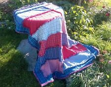 PHAT RAGGY RAG PATTERN Quick Easy Unique Rag Quilt Finish SHIPS FREE