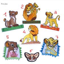 Patch Toppa Re Leone Simba Nala Mufasa Lemure Ricamata Termoadesiva