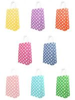 Luxury Polka Dot Paper Party Carrier Gift Bags Kraft with Twisted Handles