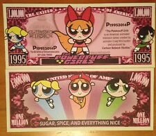 Powerpuff Girls Million Dollar Bill Cartoon Network