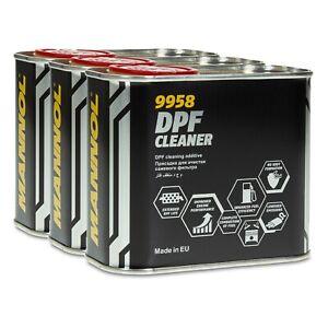 MANNOL 9958 DPF Cleaner Diesel-Kraftstoffadditiv, 3x400ml