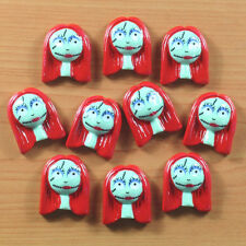 10 pcs the Nightmare Before X'mas Sally Girl Resin Flatbacks Hair Bow Crafts BIN