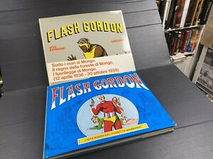 Fa20 Flash Gordon Età D'loro del fumetto italiano Garzanti 2 Volumi