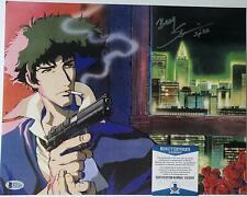 Steve Blum signed 11x14 Poster Spike Cowboy Bebop w/ inscription Beckett