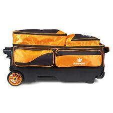 Brunswick Edge Premium 3 Ball Bowling Roller Bag Color Orange