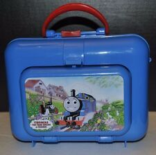 Thomas the tank Engine train kids child school Plastic lunchbox PREOWNED