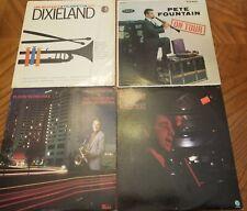 New listing Four Piece Lot Vinyl Records Pete Fountain Dixieland David Frishberg Pete Peters