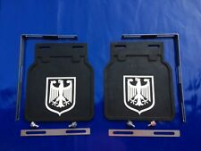 CUSTOM MUD FLAPS TRIM VOLKSWAGEN VW EAGLE For VW BEETLE BUG BUS BAY SPLIT OVAL