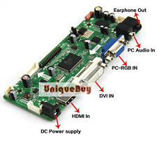 "17"" LCD Controller Board Card HDMI+VGA+DVI for 1440*900 B170PW LTN170WX LTN170X2"