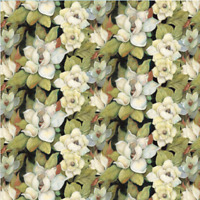 Iridescent Magnolia Springs Creative 100% cotton Fabric by the yard