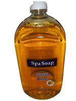 Spa Soap Antibacterial Liquid Refill 32 fl oz New. Helps Fights colds/flu/ virus