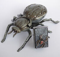 Zippo Lighter ● Golden Spider Vol 4 Limited Spinne Kreuzspinne ● New OVP ● B11