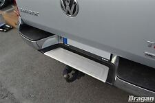 To Fit 10 - 16 Volkswagen VW Amarok S/S Rear Bumper Step Panel Chrome Trim Cover