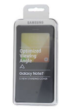 Official Samsung Galaxy Note 7 SM-N930 Black S-View Case Stand - EF-CN930PBEGWW