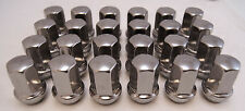 24 GMC Sierra Yukon XL Denali Savana Factory OEM Polished 14x1.5 Lugs Lug Nuts