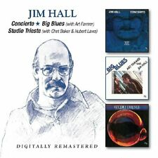 JIM HALL - CONCIERTO/BIG BLUES/STUDIO TRIESTE  2 CD NEW